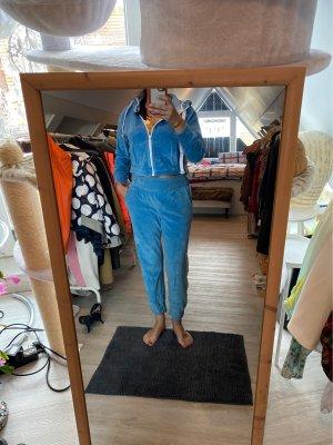 Set lingerie blu neon