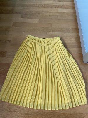 Set Fashion Plisowana spódnica żółty