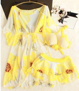Bikini amarillo-amarillo neón
