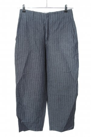 Set Pantalon 7/8 bleu motif rayé style décontracté