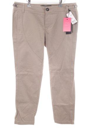 Set Pantalon 7/8 blanc cassé style décontracté