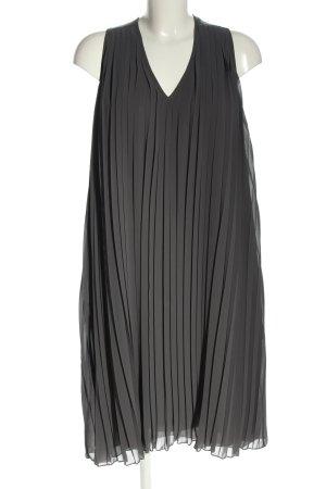 Set A-Linien Kleid hellgrau Casual-Look