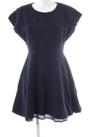 Set A-Linien Kleid dunkelblau klassischer Stil