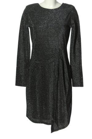 Set Suknia wieczorowa czarny-srebrny Elegancki