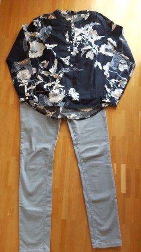 Set aus Bluse und Hose - Business Look, schick und bequem