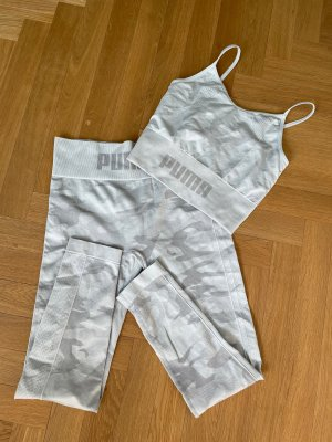 Puma Trackies white-light grey