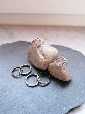 Bijou Brigitte Statement ring zilver-brons
