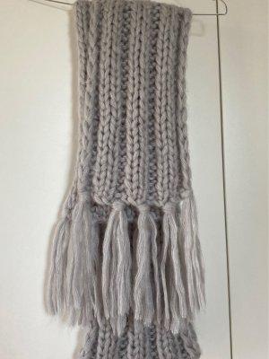 C&A Bufanda de lana gris