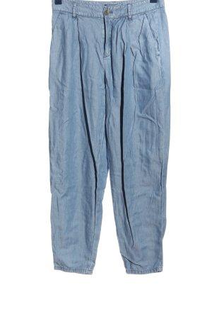 Set Workowate jeansy niebieski Elegancki