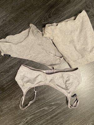 nur die Set lingerie grigio chiaro