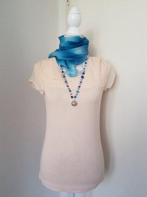 Set: Bluse in Größe S mit Schal und Kette