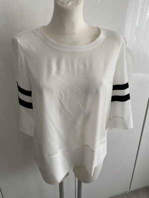 SET Bluse schwarz Weiß 38