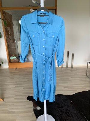 Set Sukienka koszulowa błękitny