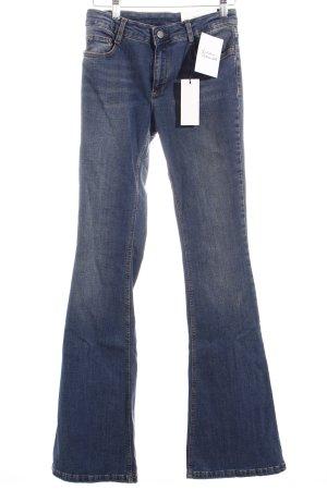 Set Boot Cut Jeans dunkelblau