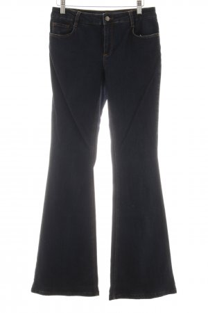 Set Boot Cut Jeans stahlblau Casual-Look