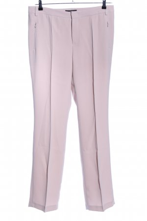 Set Bundfaltenhose pink Business-Look