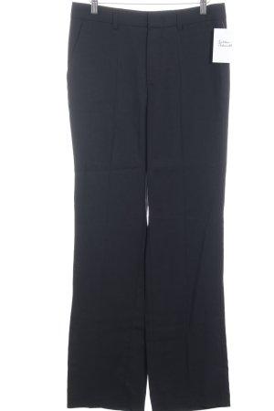 Set Bundfaltenhose schwarz klassischer Stil