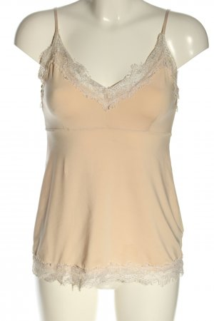 Set Camisole nude-wolwit casual uitstraling