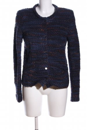 Set Cardigan blau meliert Business-Look