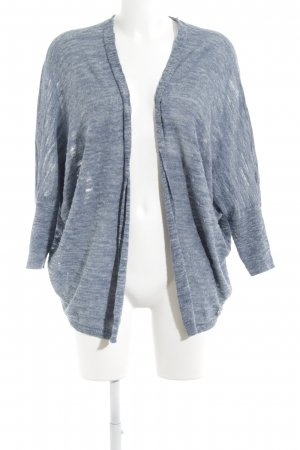Set Cardigan stahlblau meliert Casual-Look