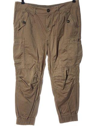 Set Pantalón de camuflaje marrón look casual