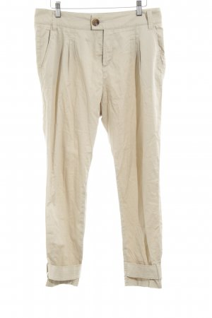 Set Chinohose creme Casual-Look