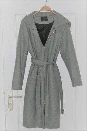 Top Secret Cappotto con cappuccio grigio-nero