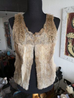 Set Fur vest multicolored