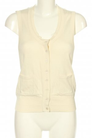 Set Fine Knitted Cardigan cream casual look