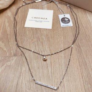 Cadenzza Necklace white-light grey