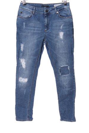 Set Five-Pocket-Hose blau Casual-Look