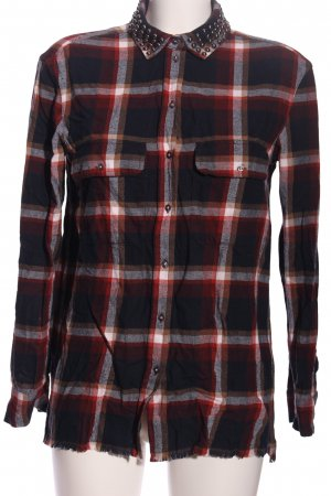 Set Flannel Shirt check pattern casual look