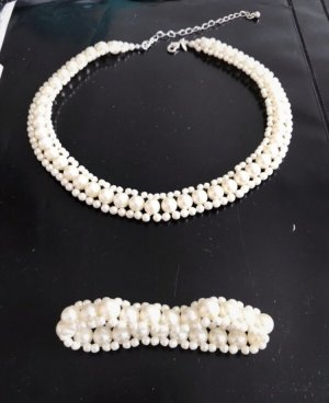 Collier Necklace white-natural white