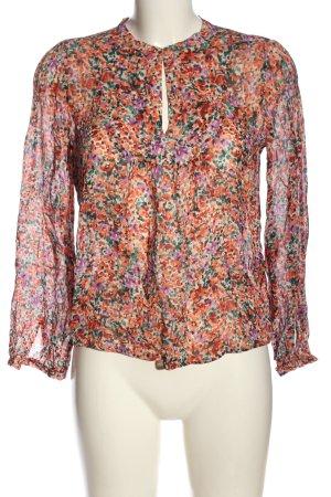 Set Hemd-Bluse abstraktes Muster Business-Look