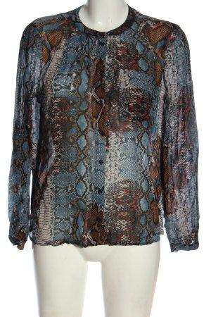 Set Shirt Blouse animal pattern casual look