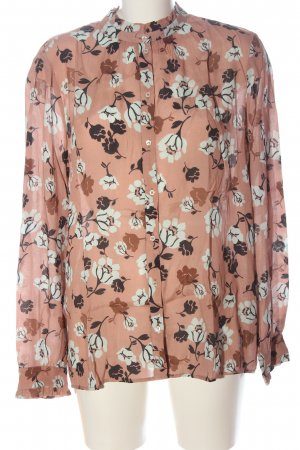 Set Hemd-Bluse Allover-Druck Casual-Look