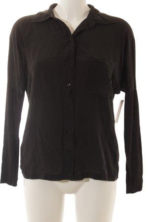 Set Hemd-Bluse schwarz Elegant
