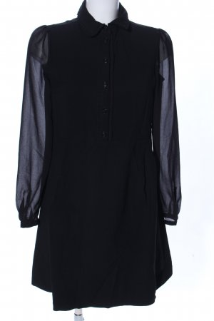 Set Hemdblousejurk zwart zakelijke stijl