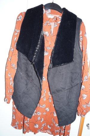 SET - Herbstoutfit: Kleid mit Weste