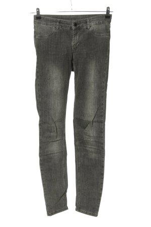 Set Skinny Jeans hellgrau Casual-Look