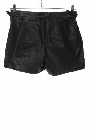 Set High-Waist-Shorts schwarz Casual-Look