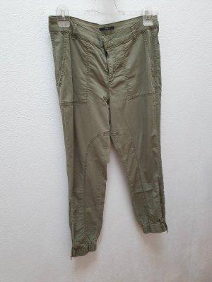Set Luźne spodnie oliwkowy