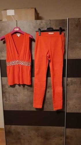 Set Hose & Top orange Gr L