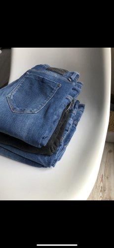 Set Hosen, Jeans, Damen, Zara, H&M, blau, schwarz, Gr. 36