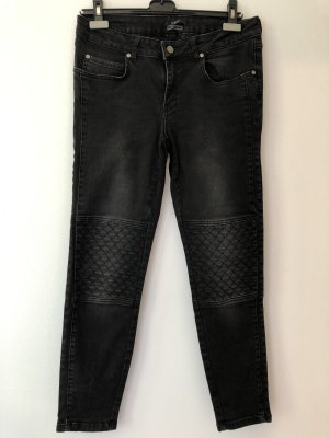 Set Jeans vita bassa nero