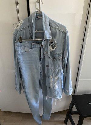 Set Jeans Jacke /Highwaist Jeans von Divided