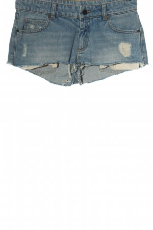 Set Jeansshorts blau Casual-Look