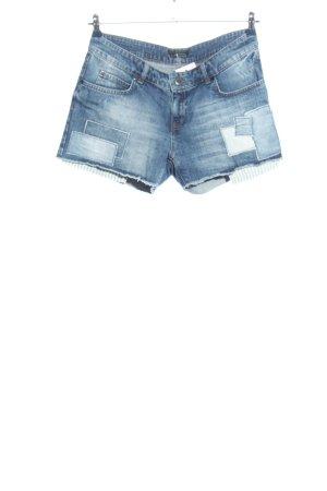 Set Short en jean bleu style décontracté