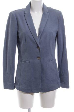 Set Jerseyblazer blau Business-Look