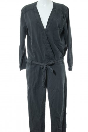 Set Jumpsuit schwarz Casual-Look